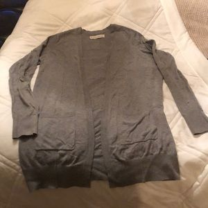 Abercrombie and Fitch size small gray cardigan